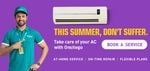 Onsitego Comprehensive AC AMC - Get 2 Free Jet Services + Free gas charging + Unlimited Repairs