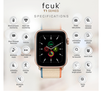 Sale at 12PM- FCUK T1 Series Smartwatch with Calling Function