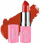 Biotique Natural Makeup Starkissed Moist Matte Lipstick, Sugar N Spice, 4g