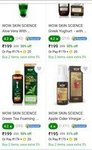 Minimum 50%off on WOW beauty products + Buy 3 get 65%