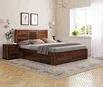 Induscraft Sheesham Wood Humsafar King Bed
