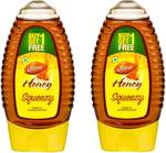 Dabur Honey 100% Pure World's No.1 Honey Brand with No Sugar Adulteration , Squeezy Pack - 225g (Buy 1 Get 1 Free)