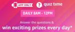 Amazon Daily Quiz 20 Apr -Answer & Win   Samsung Galaxy Ear Buds Pro, Black