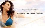 Zivame The Summer Wonderland Sale - Upto 50% off + Free Shipping   Sleepwear, Activewear - Under Rs.1199   Bras Upto 50% Off    Panties Upto 40% Off