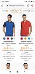 Amazon Brand polo T-shirt start @ Rs 191
