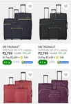 set of 3 Luggage @Rs 2799