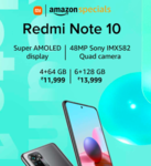 Redmi Note 10 Starting from Rs.11,999 (Open Sale)