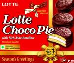 Lotte Soft Buscuits with Choco Covered, 504 g