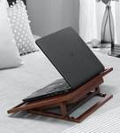 Portable Teak Wood Table (Brown Colour)