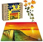 Webby Sunset Over The Sea Wooden Jigsaw Puzzle, 252 Pieces