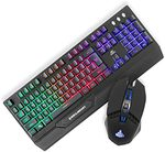 Ant Esports KM500W Gaming Rainbow Backlit Keyboard and Mouse Combo (Wired)