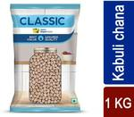 Flipkart Supermart Classic Kabuli Chana (Whole)  (1 kg) flat 52% off
