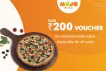 50% off upto 120 on minimum order of 300 on zomato using 10 intermiles