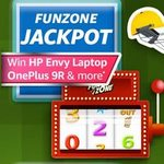 Amazon FUNZONE JACKPOT Win HP Envy Laptop OnePlus 9R & more
