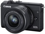 Canon EOS M200 Mirrorless Camera Body with Single Lens (EF-M15-45mm f/3.5-6.3 IS STM)(Black) Lowest price