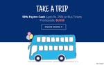 Get 50% Paytm cash on Bus Tickets
