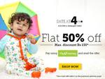 babyoye : Get Flat 50% off via payumoney.max Disc of rs.150