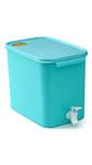 Tupperware Turquoise Water Dispenser@675 mrp:1700