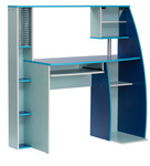 Computer Table in Blue Finish by Mintwud for Rs. 4,414 @ Pepperfry
