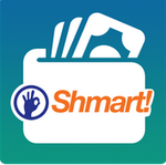 Shmart-wallet 50%cb  max 100 on dth recharge of 200 upto 5times a day so 500 cb on 1000 new app and new users