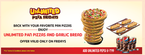 Unlimited Pizza Hut Party - 11th September 2015
