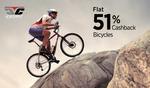 Paytm: Cycles @51% cash back (SH51) || Sports & Gym Nutrition & Sports Equipment @51% cash back