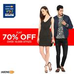 Flat 70% off on fashion accesories+10% cashback with paytm