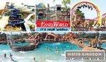 Entry Ticket for  Essel World/Waterkingdom @272/304 . Senior citizen@10rs