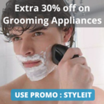 Extra 30% off on Grooming Appliances (Max 350) + 10% Cashback via Paytm @Nearbuy