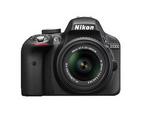 Nikon D3300 (with AF-S 18-55 mm VR II Kit Lens) 24.2 MP DSLR Camera (Black) + FREE Nikon DSLR Bag + 8GB Memory Card @ 19,453 (after cb on paytm)