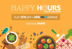 Peppertap Flash Sale: Flat 15% off + Extra 10% Paytm Cashback (3 PM - 7 PM)