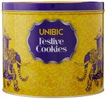 Unibic Festive Cookies, Tin, 250g@120+40(shipping) (70% off) MRP 399