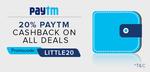 ilittle: 20%Cashback through paytm