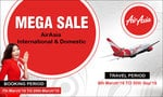 AirAsia Mega Sale_International & Domestic (8 March-30 Sept,2016) + Extra Flat Rs. 300 cashback using MobiKwik wallet
