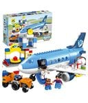 (47% off) Innovation Multicolour Happy City Airport Block Building Set - 69 Pieces @ Rs 1999/- MRP Rs 3799/-