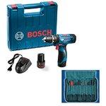 amazon    Bosch 06019F30K2 GSB-1080 Li Cordless Drill (Blue) @5199 (63% off)    mrp- 14000