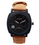 Buy Curren Beige Leather Analog Watch for Rs.443