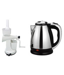 Black Cat 1.8 Ltr Electric Kettle With Hand juicer @1149 MRP.5520 (79% Off)