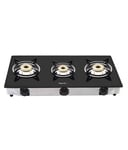 Pigeon 3 Burner Glass Top Gas Stove @ Rs 2371 MRP Rs 3999/-
