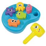 Simba ABC Sea Animal Hammer Bench, Multi Color@ 438/- [Check PC]