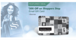 Amazon: ShopperStop eGV: Get Rs.200 Off on 1000 promo code SS200OFF