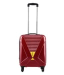 snapdeal  Safari X-Cross Red 4 Wheel Hard Luggage Trolley from Rs 2343