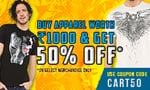 Voxpop :- Flat 50%  off on Purchase above Rs 1000
