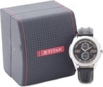 Titan Youth Analog Black Dial Men's Watch - 1587SL04 at 2099 [Mrp 4495 :53% off] on Amazon .in