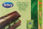 Tetley Green Tea Lemon and Honey 100 Tea bags with Tea Chest Free @450 | MRP 1100