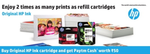 Buy original HP Ink Cartridges and get Paytm Cash worth 50