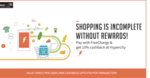 Pay with Freecharge and get 10% cb at Hypercity, max 50 cb
