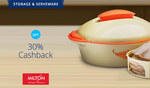 Milton Upto 52% Off + Flat 30% Cashback @Paytm