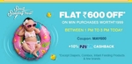 Flat Rs 600 off on minimum purchase of Rs 1999 @ Firstcry