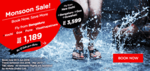 AirAsia: Monsoon Sale Starting from Rs. 1,189   Valid till 5th June 2016